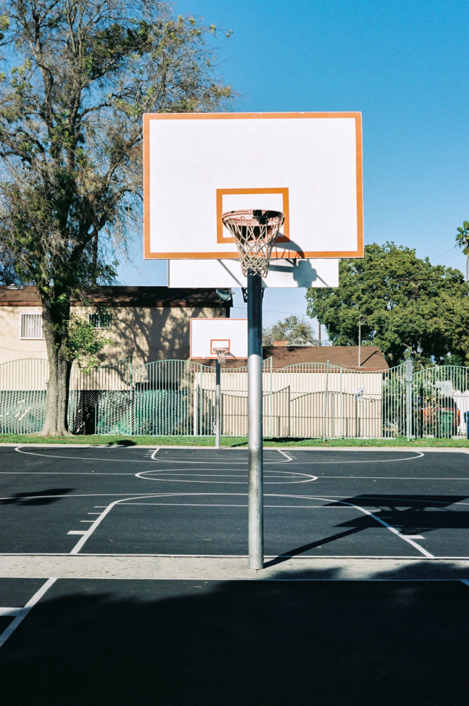 basketball courts at trinity park